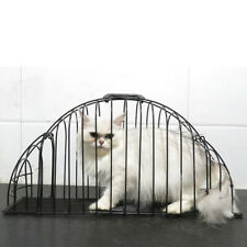 Durable Steel Wire Pet Cat Kitten Puppy Dog Grooming Washing Shower Bath Cage