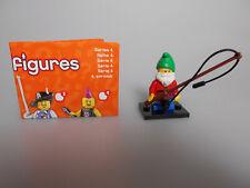 Lego® Minifiguren Sammel Serie 4  Nr.1 mit BPZ und Platte