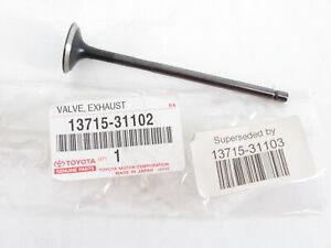 Lexus 13715-31103 IS350 Cylinder Head Exhaust Valve Genuine OEM New