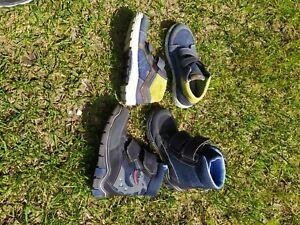 2 paar Ricosta 29 Schuhe Herbstschuhe und  Blinkende Jungen Winterstiefel