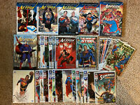 Superman Action Comics 1 2 3 4-14 TPB HC Graphic Novel Lot Vol Rebirth Complete