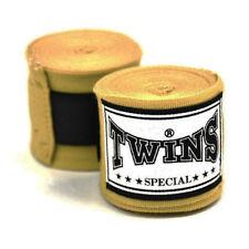 Twins CH5 Handwraps 5M Gold Premium Elastic Stretch Boxing Kickboxing Striking