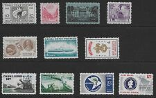 Canal Zone 11 post-1948 commemoratives, MNH, VF