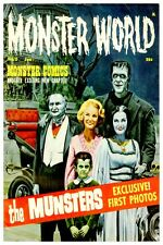 "MONSTER MAGAZINE POSTER 12"" x 18"" - THE MUNSTERS"