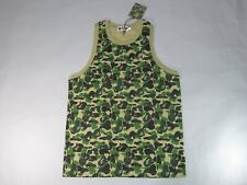 f09db1de30 20952 bape abc one point tank top green XL