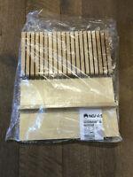 Rev-A-Shelf 4WKB-1 Wood 4WKB Trimmable Maple Knife Storage Block Drawer Insert