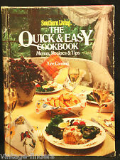 Southern Living The Quick & Easy Cookbook Tips by Lee Cannon 1979 Hardback Book