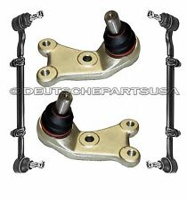Mercedes 300E 300TE 4MATIC STEERING TIE RODS + CONTROL ARMS BALL JOINTS SET 4