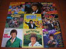 """""""12"""" - LP-Sammlung - TONY MARSHALL - 13 LPs - viele RARITÄTEN - near MINT !!!"""