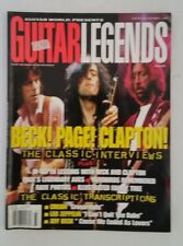 Guitar World Presents Guitar Legends Magazine Beck Page Clapton special issue
