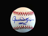 ROLLIE FINGERS HOF 92 MVP WSC A'S PADRES BREWERS SIGNED AUTO BASEBALL JSA
