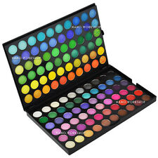 120 Color New Eyeshadow Makeup Palette 24 Pure Black Brush & Luvvie Brush