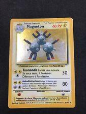 magneton set base 9/102 Holo Ita Rara Cond Da Foto No Charizard Zacian Lugia