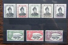 Brunei 1952 - 1958 values to $5 MM