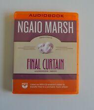 Final Curtain: Ngaio Marsh - Unabridged Audio Book - MP3CD