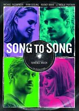 Song to Song (DVD, 2017) W/ Natalie Portman, Ryan Gosling, Terrence Malick NEW