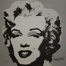 ANDY WARHOL -Marilyn Monroe GREY - Edi. limitada. Firmada y numerada