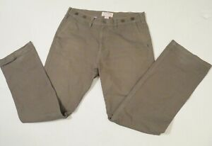 FIlson Shelter Cloth Cotton Pants Green 34W. 32L USA Made Style 10175