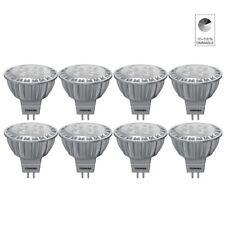 8 x TOSHIBA E-CORE MR16 LAMPE LED réflecteur 6.5W remplacé 35W