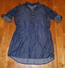 NWT Womens Cancun Wash GLORIA VANDERBILT Ashleigh Tie Waist Dress Size Medium M