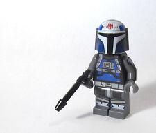 LEGO Custom -- Fenn Rau v3 -- star clone wars mini figure mandalorian trooper