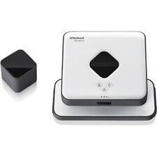 iRobot - Braava 375 Robotic Floor Cleaner Robot Mop - White