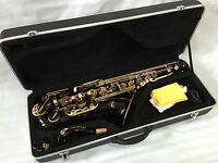 Professional Black Gold Tenor Saxophone