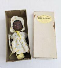 Antique Black Bisque Doll