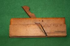 H. Chapin Union Factory 1850 Triple Cluster Boxwood Bead Complex Plane Inv#SM08