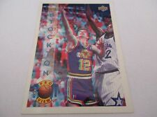 Carte NBA UPPER DECK 1994 PRO VIEW #18 John Stockton Utah Jazz