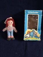 Raggedy Andy Miniature Rag Doll SWEET Knickerbocker in Box Vintage