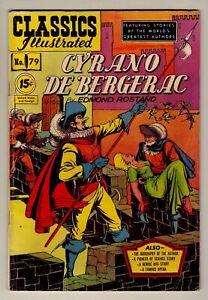 Classics Illustrated #79 - Cyrano de Bergerac - 1951 LDC - HRN #85 - Fine (6.0)