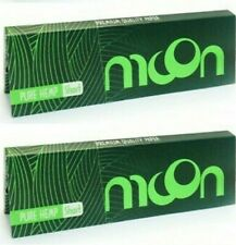 Great Prices 500 Lvs! 10 Packs Moon Red Rolling Papers Slow Burning 50 Leaves
