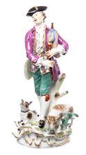 Figur großer Schäfer mit Dudelsack Meissen von J.J. Kändler 1. Wahl 27cm