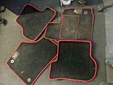 SEAT LEON MK2 FR CR 2005-2013 FR LOGO CARPET FLOOR MATS COMPLETE SET GENUINE