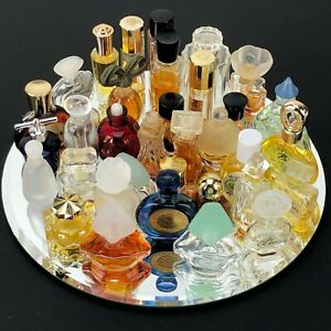 Vintage Miniature Glass Perfume Bottle Lot Discontinued Scents Some French VTG
