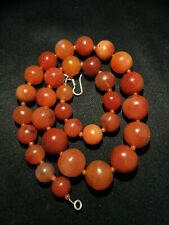 A beautiful 900 years old Pre Ankor carnelian beads necklace from Cambodia