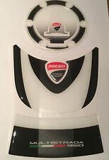 Motorcycle Tank Pad Protector Sticker   Ducati Multistrada 950 Set