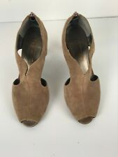 Moda Spana  Womens Evening Shoes Open Toe  Size 6