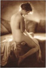 1920's Vintage German Female Nude Model Art Deco Schencker Photo Gravure Print b