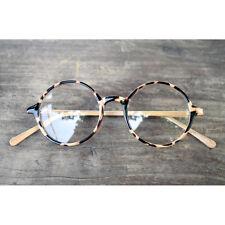 1920s Vintage Eyeglasses Oliver Retro 19R0 Beige Round Frames rubyruby