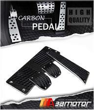 Carbon Fiber Manual Pedal Set + Footrest for BMW E30 E34 E36 E38 X3 X5 Z3 M/T
