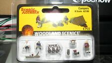 WOODLAND SCENICS A2199 N SCALE CAMPERS