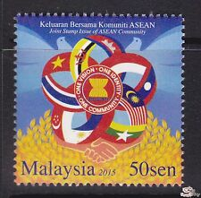 [SS] Malaysia 2015 Joint Issue ASEAN Community STAMP