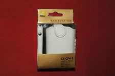 Genuine Nikon CS-CP4-1 White Leather Case for Nikon Coolpix S01 Brand New