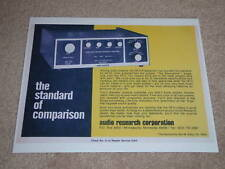 Audio Research Classic Ad,SP-3 Preamp,Article,Tube,Nice