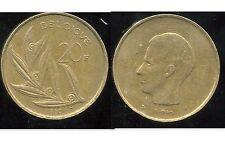 BELGIQUE  20 francs  1980  ( belgique)