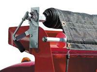 Buyers Product Dump Truck Pull Tarp Roller Kits 7' x28' tarping cover trailer