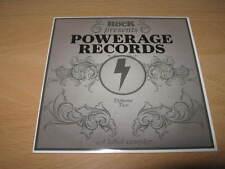 CLASSIC ROCK - POWERAGE RECORDS VOL. 2 - EXCELLENT PROMO CD ALBUM