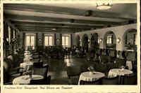 Bad Wiessee Bayern 1960 Partie Conditorei Cafe Königslinde Innenansicht Gastraum